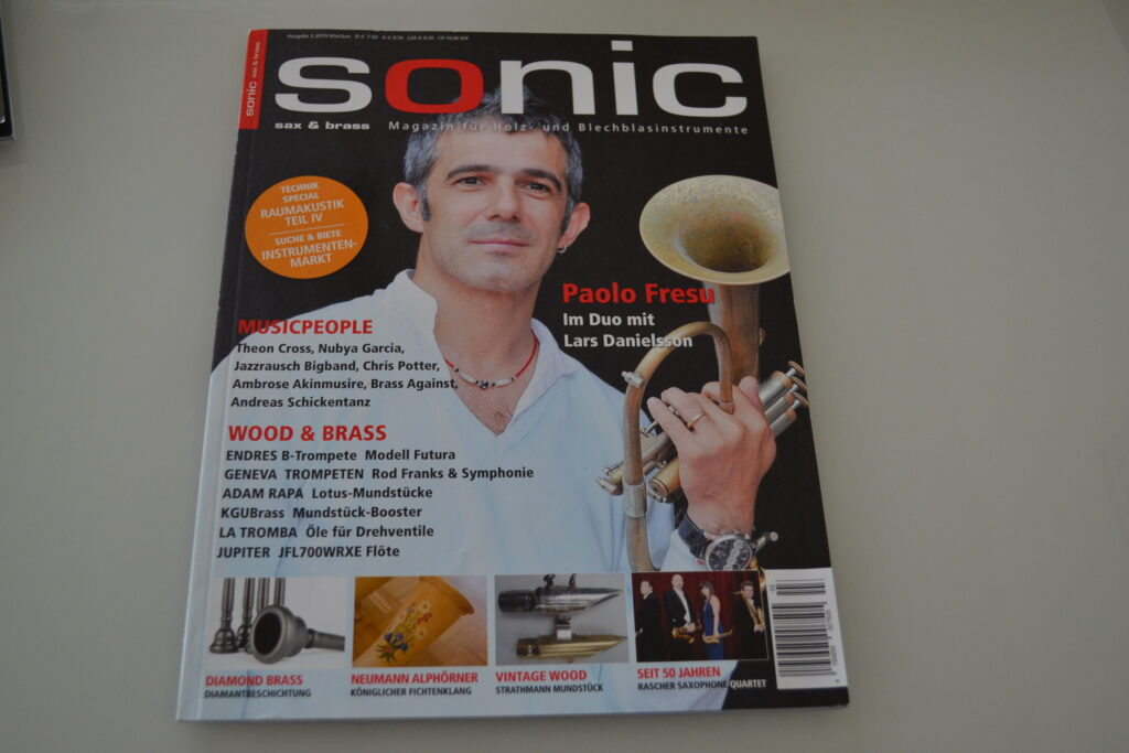 Coverbild von Jazztrompeter Paolo Fresu